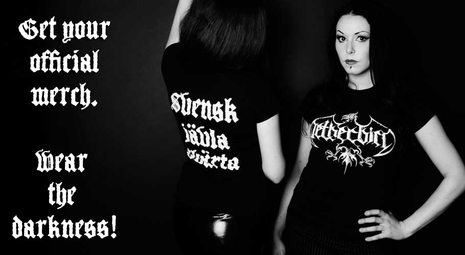 Official Merchandise, wear the fucking darkness!